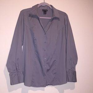 Lane Bryant Gray Shirt